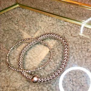 Silpada sterling silver bracelets